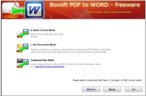 Bạn có thể chuyển đổi toàn t�p tin PDF trong 1 thư mục cùng 1 lúc th�t dễ dàng.